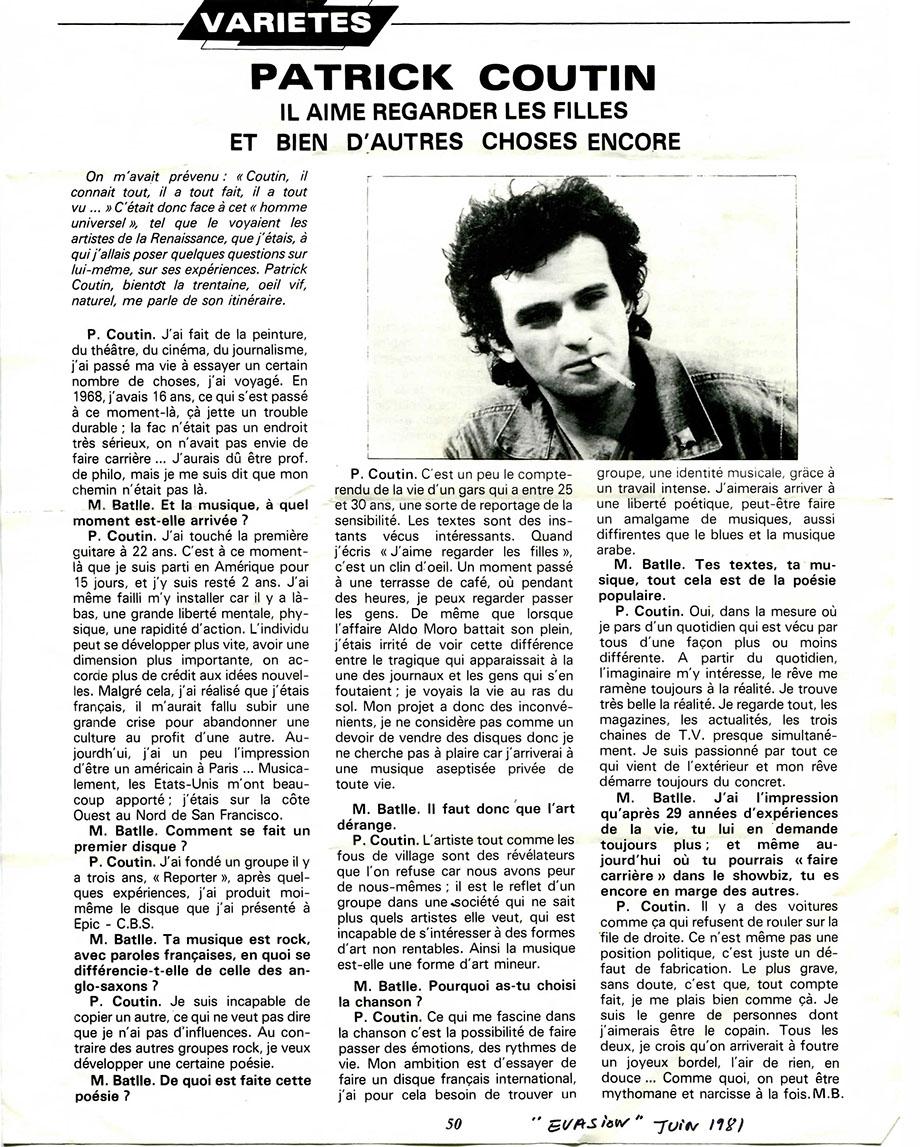 evasion 1981